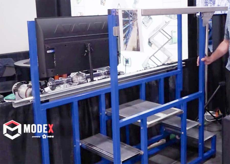 Rolling Folding Racking Steps
